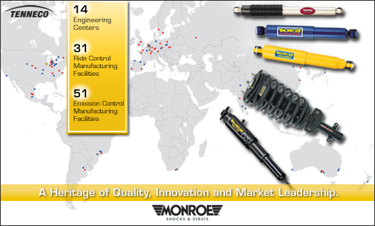 MONROE SHOCKS & STRUTS: Global Brand